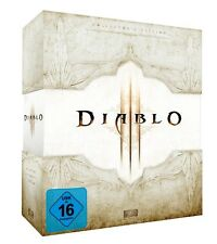 DIABLO 3 COLLECTORS EDITION d3 DA COLLEZIONE-leerbox EMPTY BOX White.