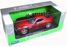 Welly 18013W Alfa Romeo 8C Competizione 1:18 Diecast Red