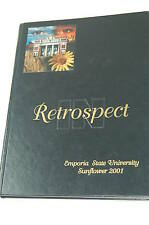 IN RETROSPECT Emporia Kansas State University Sunflower 2001 Yearbook