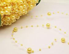 1yd DIYbride Party Wedding Decoration Garland Acrylic pearl Strand curtain