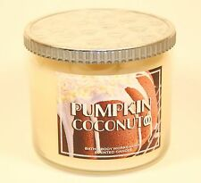 Bath & Body Works Home PUMPKIN COCONUT 3-Wick Candle 14.5 oz