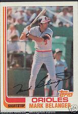 Topps 1982 Baseball Card - No 776 - Mark Belanger - Orioles