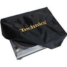 TECHNICS TURNTABLE DECK COVER GOLD CLASSIC - DECKG1 (Black, Gold Logo) NEW