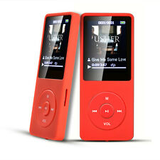 AGPtEK 2015 Latest Version 8GB 70 Hours Playback MP3 Music Player Red