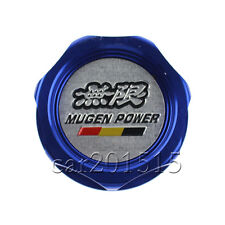 Engine Oil Filler Cap Tank Cover MUGEN Aluminum For Honda Acura Civic Blue 1PC
