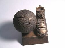 Basketball Trophy or Paperweight Resin Bronze Color made by PDU