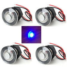 4x Waterproof Blue LED Courtesy Livewell Boat Light Interior Exterior UnderWater