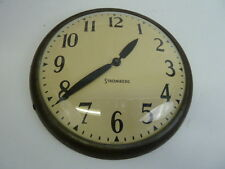 VINTAGE INDUSTRIAL STROMBERG TIME CORPORATION 40V.DC MODEL S300 SLAVE CLOCK