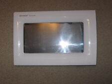 SHARP Microwave Door Assembly, White from Model R301FW