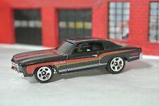 Hot Wheels '70 Monte Carlo SS 454 - Black - Loose - 1:64 - Exclusive