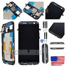 For HTC ONE M8 LCD Display Touch Screen Digitizer Frame Replacement Assembly USA