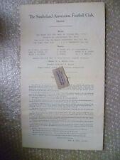 Sunderland FC Ltd CONTI ANNUALI & direttori rapporti Y/e 1925, 2nd MAGGIO-RARE ***