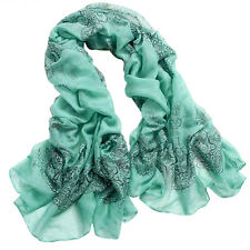 Fashion Women Ladies Warm Long Soft Chiffon Scarf Wrap Shawl Stole Scarves