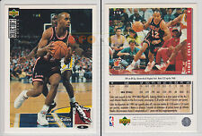 NBA UPPER DECK 1994 COLLECTOR'S CHOICE - Bimbo Coles #118 - Ita/Eng- MINT