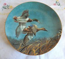 """THE MALLARDS "" PLATE THE FEDERAL DUCK STAMP PLATE COLLECTION"