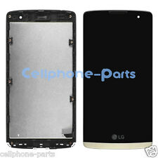 LG Leon H326T H340N H345 LS665 H343 LCD Screen Display with Digitizer Frame Gold