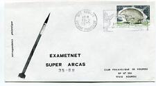 1975 Exametnet Super Arcas 35/69 Kourou Guyane Francaise Ville Spatiale SPACE