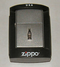 Stunning COCA COLA Zippo Lighter Mint Condition Never Fired Sealed WOW!
