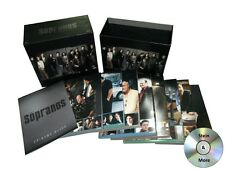 The Sopranos - The Complete Series DVD, 2012, 30-Disc Set Box Set Free Shipping