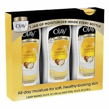 Olay Ultra Moisture with Shea Butter Body Wash, 3 Pack/23.6 oz.