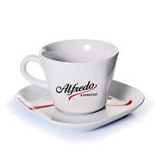 Alfredo Kaffeegeschirr Cappuccino Obertasse mit Untertasse Cappuccino 2- teilig