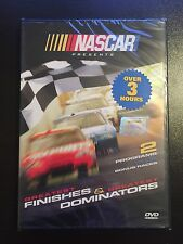 2009 NASCAR Sealed DVD Greatest Finishes & Dominators Races Dale Earnhardt Sr