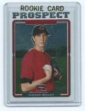 Homer Bailey 2005 05 Topps Chrome Update Rookie Card #uh86