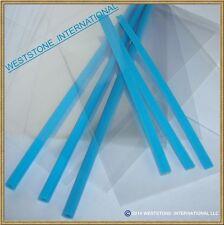 """50pcs X (6"""" Blue Lollipop Stick + Bag + Twist Ties) for cake pops Lollipop Candy"""