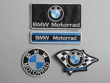 BMW MOTORRAD KIT 4 TOPPE PATCH RICAMATE TERMOADESIVE