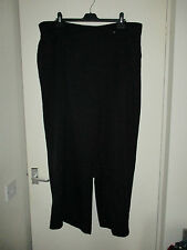 black trousers  pull on    size  30