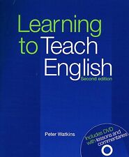 LEARNING TO TEACH ENGLISH Second Edition 2014 +DVD w Lessons PETER WATKINS @New@