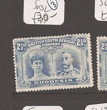 Rhodesia Double Head SG 132 copy 1 MOG (7dau)