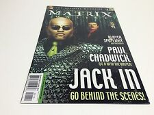 THE MATRIX ONLINE #1 (OFFICIAL MAGAZINE/VIDEO GAME/MOVIE/S156) LOT OF 1