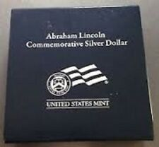 2009-P Abe Lincoln 1oz Uncirculated Silver Dollar Commemorative -  Free Shipping