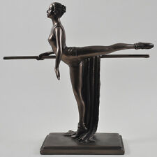 Bronze Ballerina Dancer Sculpture Figurine Ballet H20cm BRAND NEW GIFT 01497