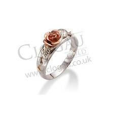 Clogau Silver & Rose Gold Royal Roses Ring *SAVE 50% OFF RRP £119* SIZE N