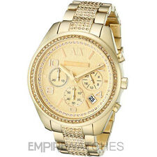 *NEW* LADIES ARMANI EXCHANGE SARENA GOLD PAVE WATCH - AX5516 - RRP £229.00