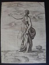 Enea Vico Parmigianino Proserpina Orlandi Lafrery 1602 bulino Roma mitologia