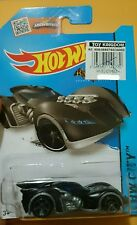 2015 Hot Wheels Batman Arkham Asylum Batmobile Matte Black