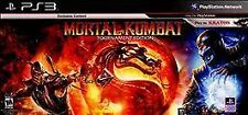 Mortal Kombat Playstation 3 PS3 Play as Kratos Exclusive Version Game Complete