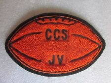"""1970's era vintage Cooperstown Redskins NY JV Football chenille patch 6 1/4"""" x 4"""