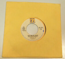 "Beach Boys ""Rock And Roll Music"" b/w ""The T M Song""  vinyl 45 promo 1976 Reprise"