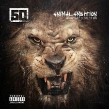 50 CENT - ANIMAL AMBITION: AN UNTAMED DESIRE TO WIN (DELUXE)  CD + DVD NEW+