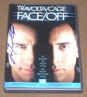 JOHN TRAVOLTA SIGNED FACE/OFF DVD w/ VIDEO PROOF! MOVIE