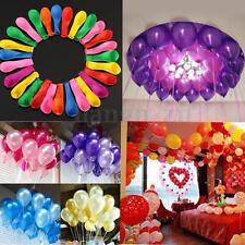 120X Mixte Latex Ballons Soirée Fête Anniversaire Mariage Parti Décor Gonflable