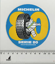 Decal/Sticker - Michelin Truck Tires/Vrachtwagen banden Serie 80