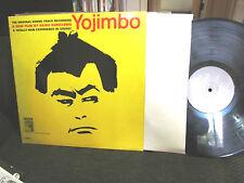 RARE AKIRA KUROSAWA YOJIMBO SOUNDTRACK LP MGM 1962 PROMO masaru sato OST MONO!!