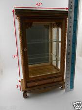 Small Vintage Cabinet Wood Teak Thai Cupboard Furniture Handmade Craft Carved