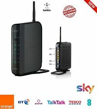 Belkin N WIRELESS ADSL2 Modem Router SKY BT TalkTalk WIFI ETHERNET-f6d4630nt4a