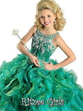 Girls' Pageant Dresses For Princess Ball Gowns Kids Formal Birthday Dance Party